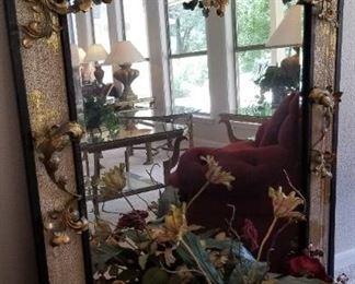 John Richard gilt wood mirror - $750