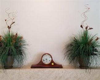 Mantle clock w/key - $250