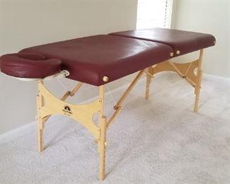 Oakwoods 'Aurora' massage table - $195