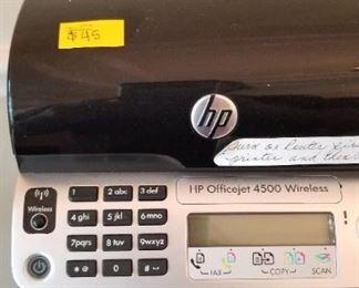 HP OfficeJet 4500 Wireless - $45