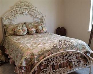 Queen bed - $650