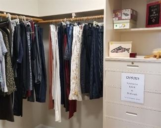 Ladies clothing & shoes - 3 for $10 unless otherwise marked