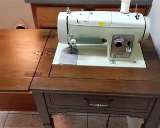 Sears Kenmore sewing machine/table - $70