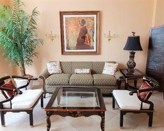 Lovely Asian inspired furniture