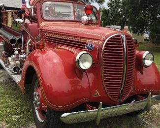 1938 open cab, runs.  Was in a parade last week.  Asking $29,000.  A trailer also for transporting is $3000.