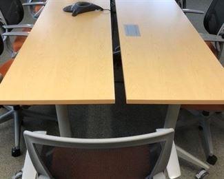 Complete board room set!!
