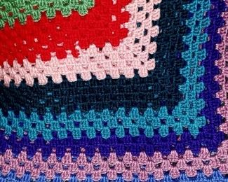 Knitted Quilt $25.00 For Appointment Please Call (760)662-7662  or Email tanya@crowncityestatesalebytanya.com