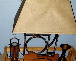 Lamp $20.00 Wooden Cat $10.00   For Appointment Please Call (760)662-7662  or Email tanya@crowncityestatesalebytanya.com