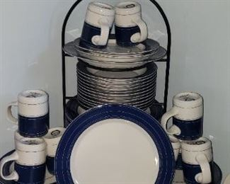 Dansk Set 48 Pieces $110.00 For Appointment Please Call (760)662-7662  or Email tanya@crowncityestatesalebytanya.com