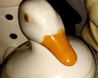 Duck Cookie Jar $20.00