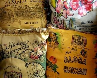 Hawaii Pillows 5.00 each For Appointment Please Call (760)662-7662  or Email tanya@crowncityestatesalebytanya.com