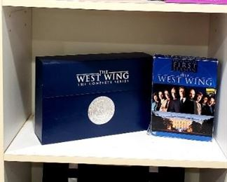 Harry Potter Compact Disc Series $20.00 Each   West Wing The Complete Series $25.00     For Appointment Please Call (760)662-7662  or Email tanya@crowncityestatesalebytanya.com