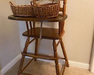 EARLY HIGH CHAIR