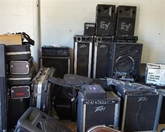 Guitar & Bass Amplifiers, Keyboards & P.A. Systems