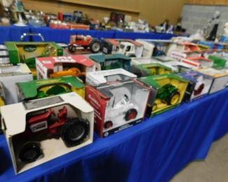 New toy tractors