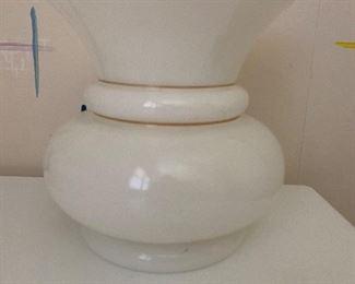 e vintage glass vase. $20.00