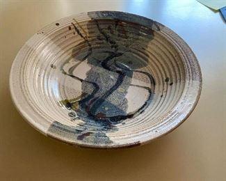 g signed ceramic dish $45.00