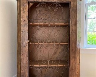 Armoire, $700.  53.5 in W x 6 ft Tall x 18.5 in D.  Purchased for $2500 from Urban Country Living in Old Town, Alexandria.