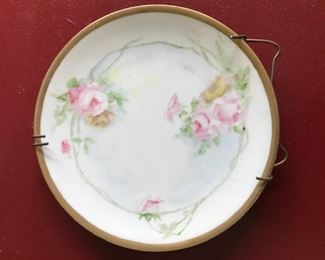 roses plate germany front