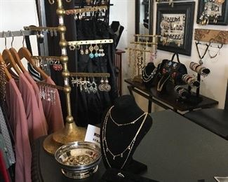 assorted accessories and fixtures - rings, earrings, and necklaces!