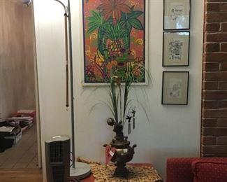 Lamp, decor, pictures