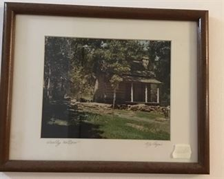 Wooly Hollow framed picture