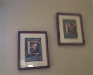Framed pictures
