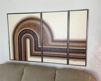 Letterman wall decor