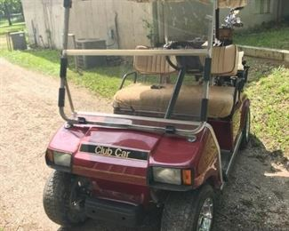 99 golf cart with new batteries