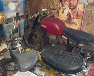 Honda 70 is 3500, Guazoni bike 6500