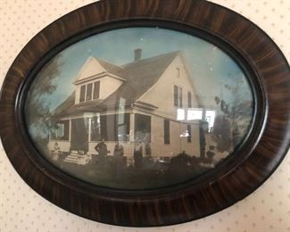 bubble frame of the homestead