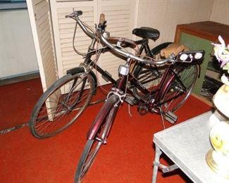 Bay Pointe 3 speed Bike $30, J. C. Higgins vintage bike $75