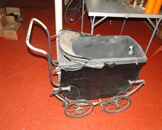 Antique Baby Carriage $30