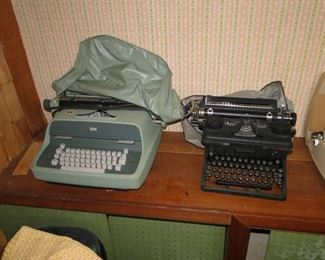 Woodstock Typewriter $75, IBM $20