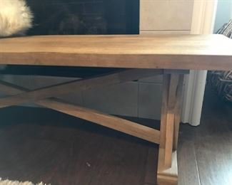 "Toscana 60"" Solid Wood Bench"