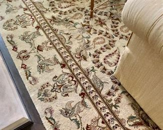 """$4,900 Hand knotted  Kashan rug.  12'2""""L x 9'2""""W"""