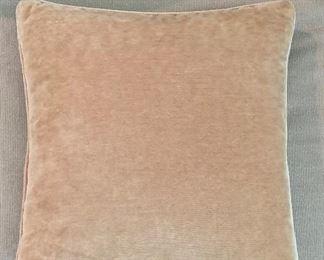Detail:  Needlepoint pillow reverse
