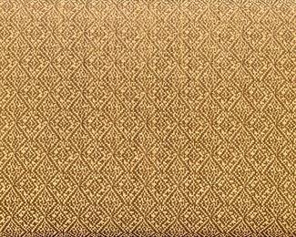 Detail: Fabric on Bausman Bench