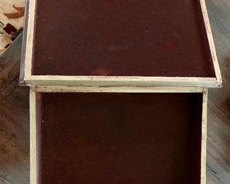 Detail:  Faux book/treasure keeper (open)