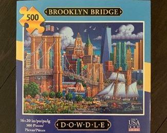 $15 500 Piece Puzzle:  Brooklyn Bridge