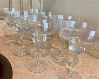 $50 Set of 7 Margarita Glasses