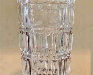 $40 Crystal Vase; Approx 10 in tall