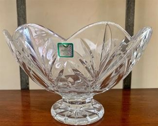 $30 Waterford Marquis footed bowl