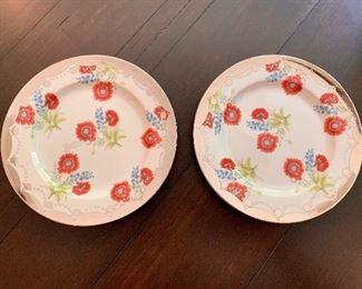 $20 Set of 2 Anthropologie Salad or Dessert Plates