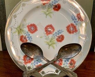 Detail; Anthropologie Dessert Plate
