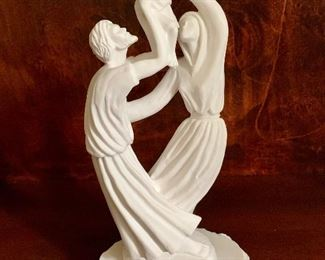 """$48; Timothy P. Schmalz collection """"Joy of the Family"""". 12""""H"""