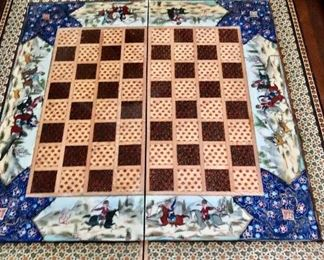 Open view of Chess board