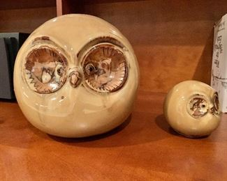 $24 Set two owls