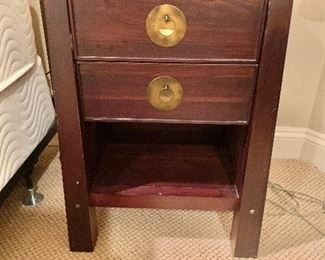 """$70 pair Pier 1 nightstands. Two available.  26.25""""H x 15.75""""D x 18.75""""W"""