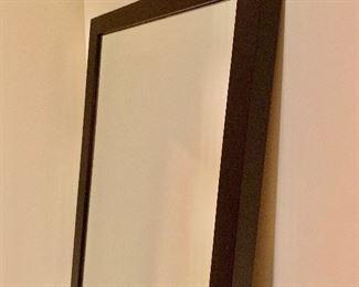 Detail: standing mirror